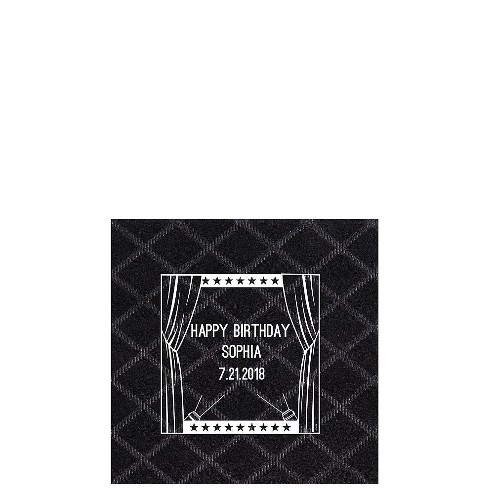 Personalized Hollywood Diamonds Beverage Napkins Image #1