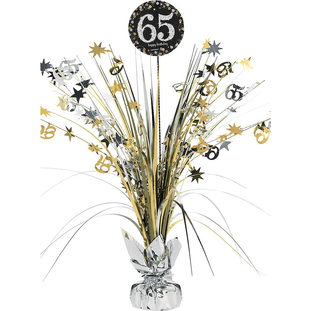 65th Birthday Spray Centerpiece