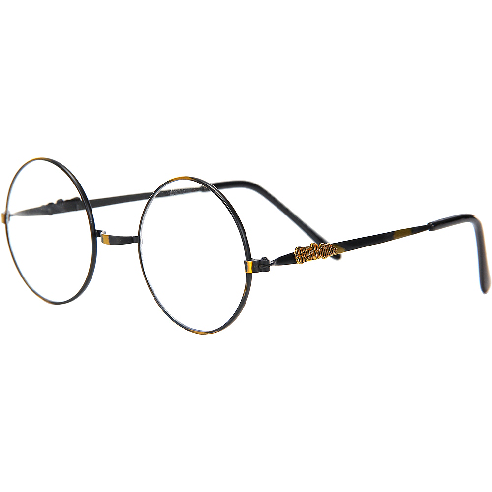 Round Wire Harry Potter Glasses - Harry Potter Image #2