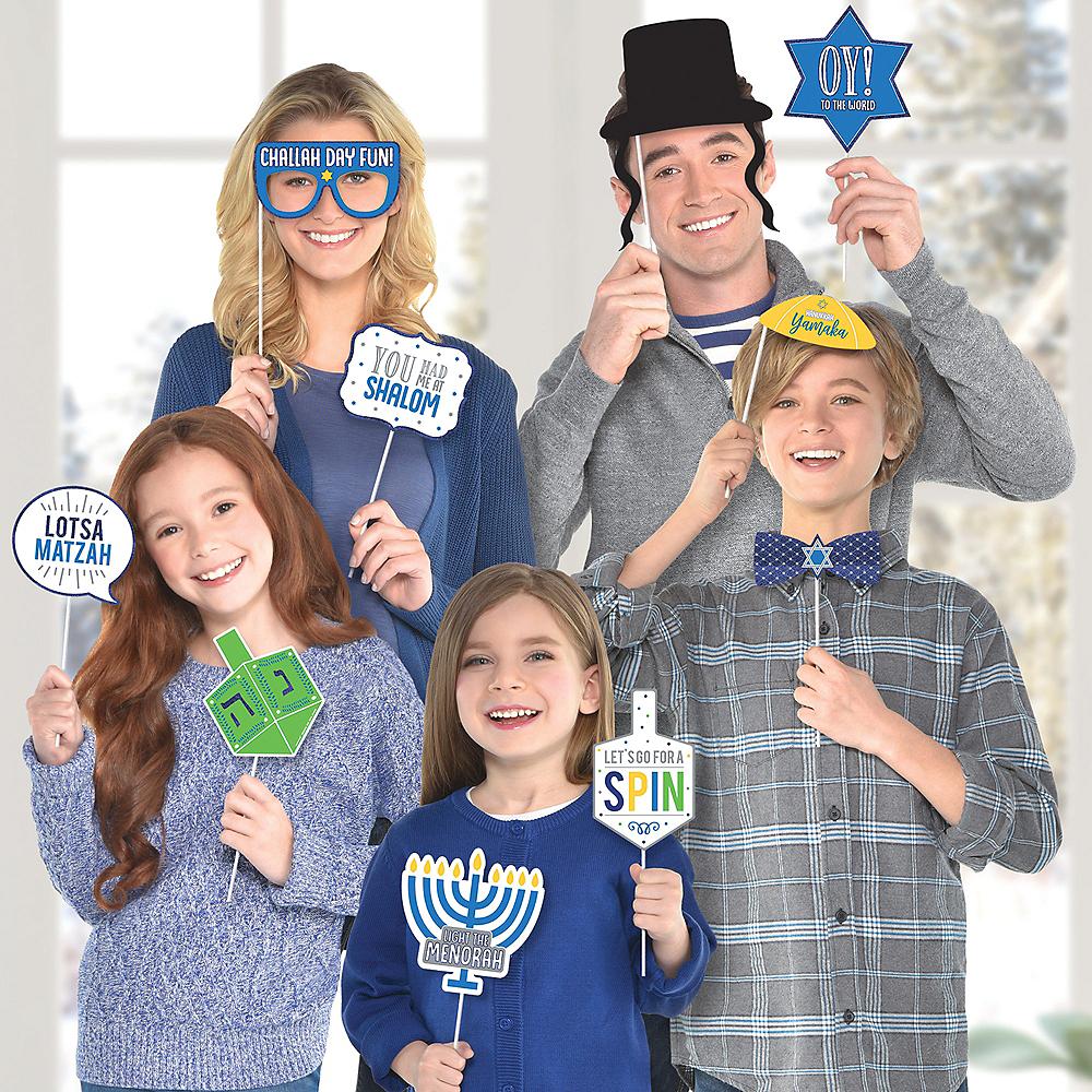 Hanukkah Photo Booth Props 13ct Image #1