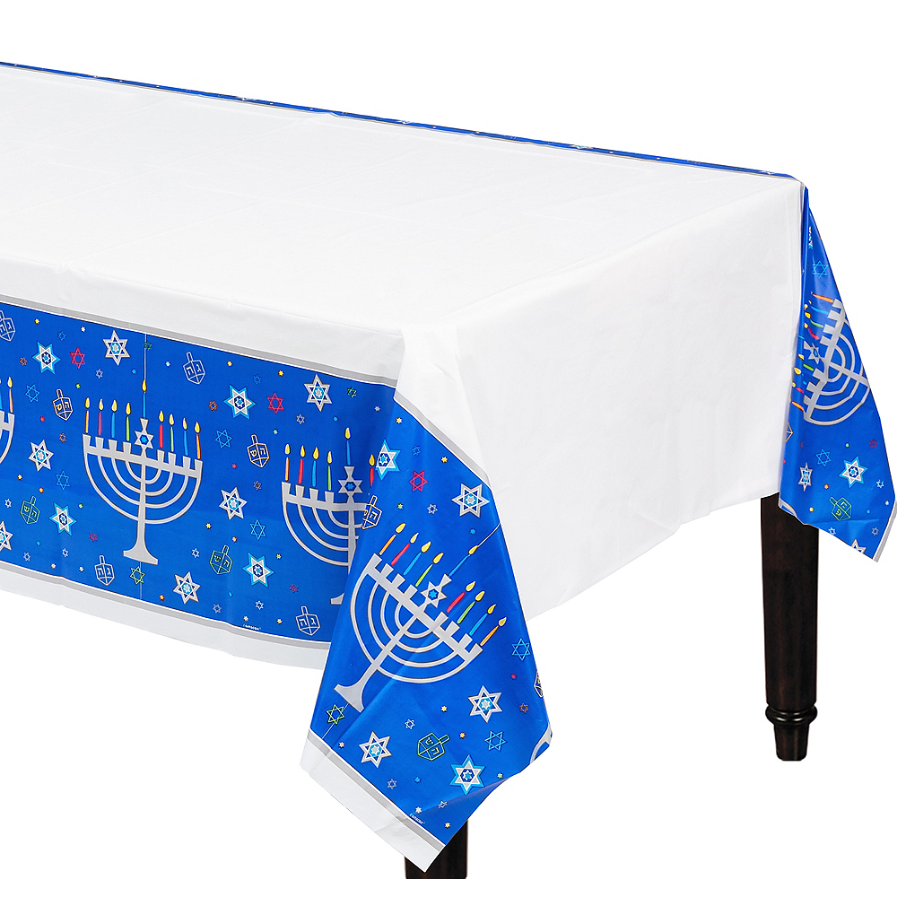 Nav Item for Eight Happy Nights Plastic Table Cover Image #1