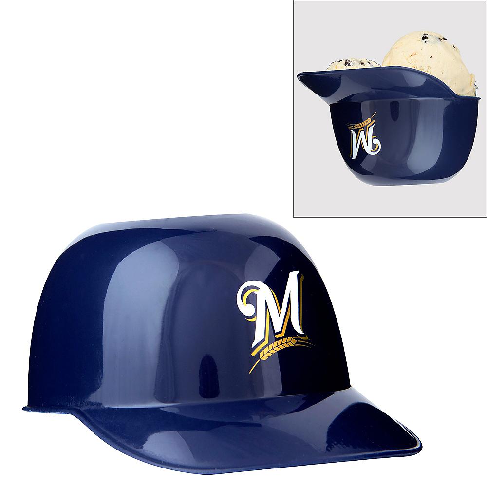 8943d5b1b2a44d Milwaukee Brewers Helmet Treat Cup 8oz | Party City
