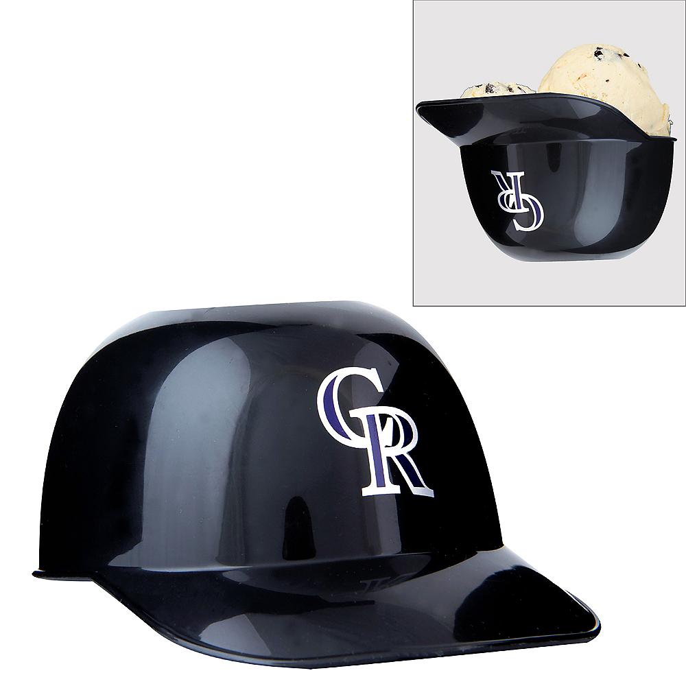 Colorado Rockies Helmet Treat Cup Image #1