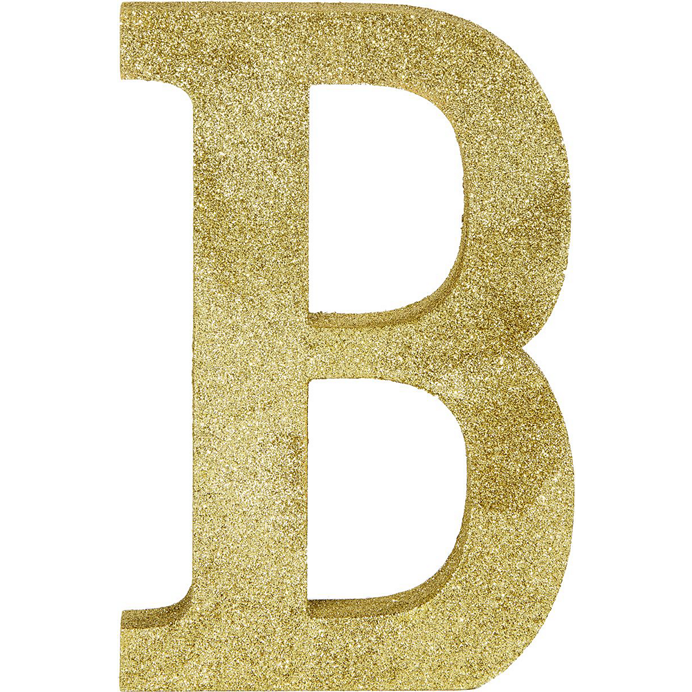 Glitter Gold Baby Sign Kit Image #2