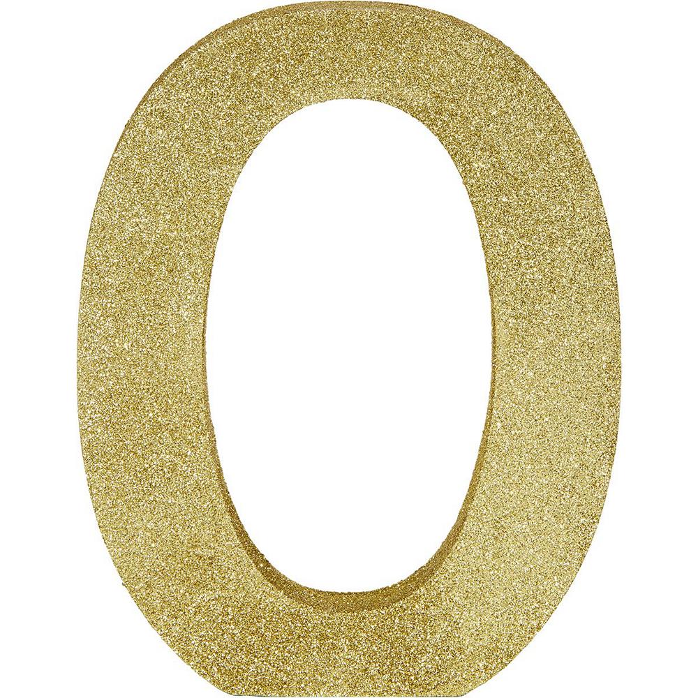 Glitter Gold XOXO Sign Kit Image #3