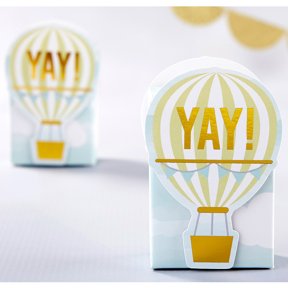 Hot Air Balloon Favor Boxes 12ct Party City