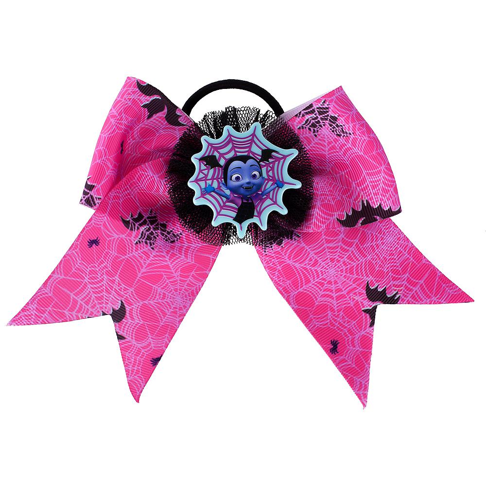 Pink Vampirina Bow Hair Tie 5in x 4in  b988c7833a6