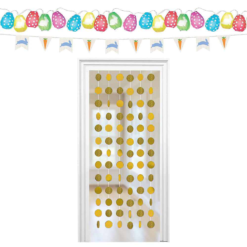 Glitter Happy Easter Decorating Kit Image #1