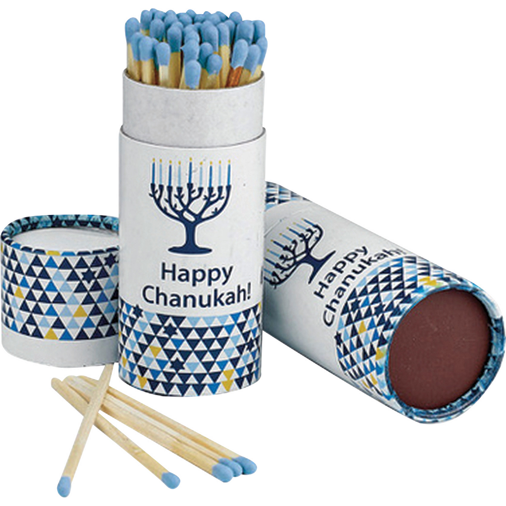Nav Item for Blue Hanukkah Matches 60ct Image #1