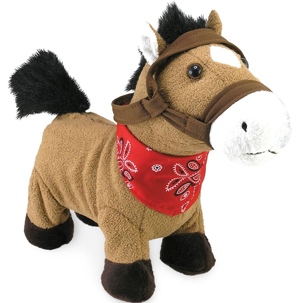 Animated Gallop Cuddle Barn Horse Plush Image #1