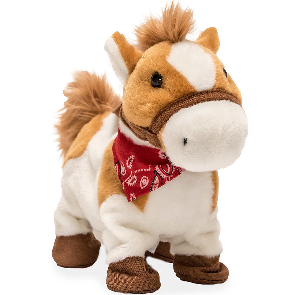 Animated Rusty Cuddle Barn Horse Plush Image #1