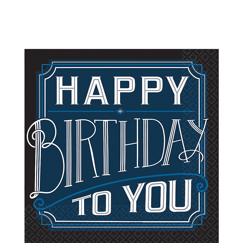 Happy Birthday Classic Lunch Napkins 16ct Image #1