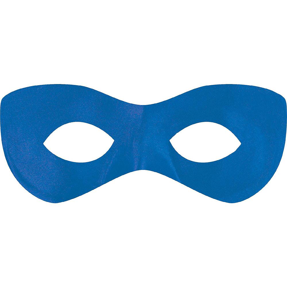 Blue Domino Masks 10ct Image #2