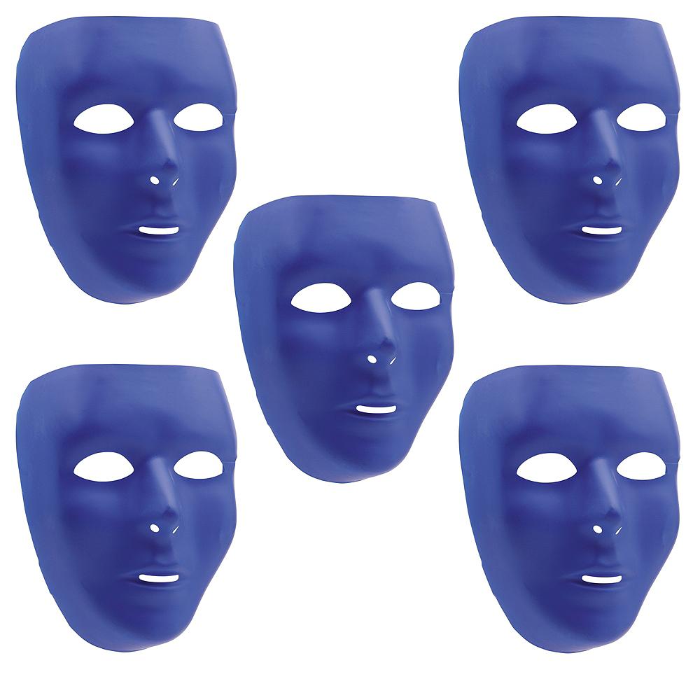 Blue Face Masks 10ct Image #1