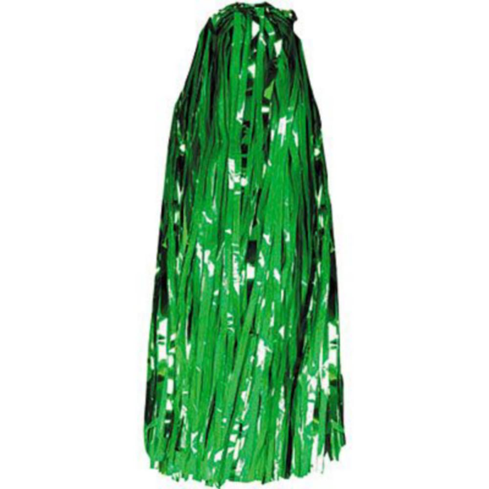 Green Pom Poms 10ct Image #2