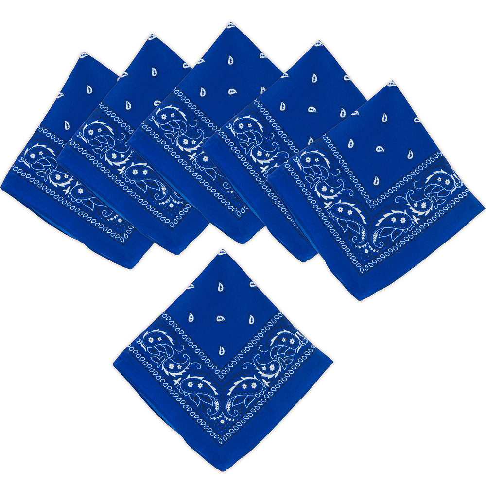 Nav Item for Blue Bandanas 10ct Image #1