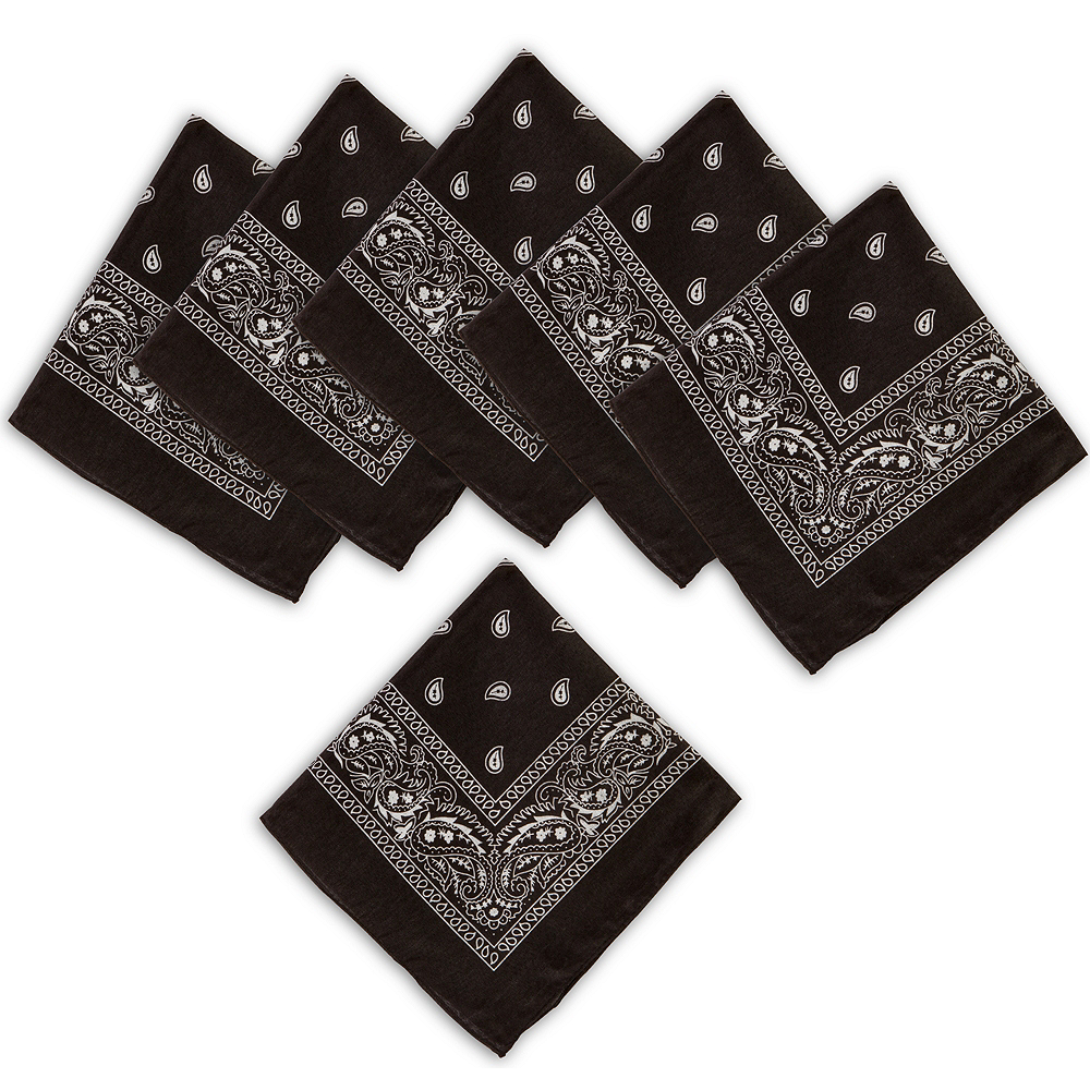 Black Bandanas 10ct Image #1