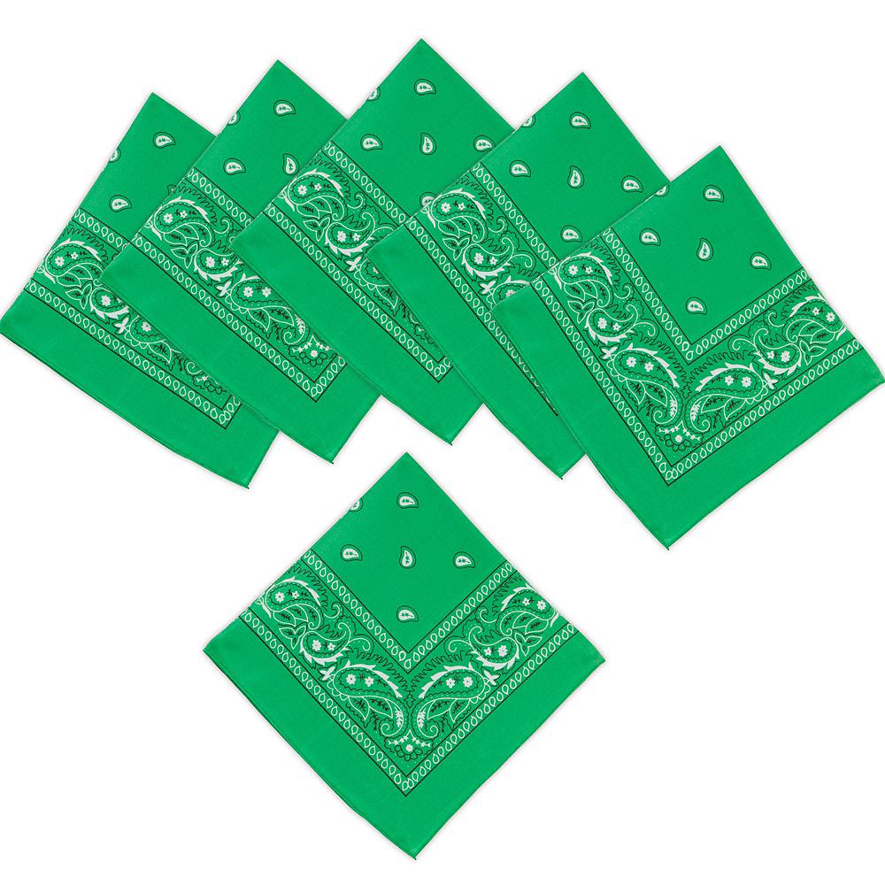 Green Bandanas 10ct Image #1