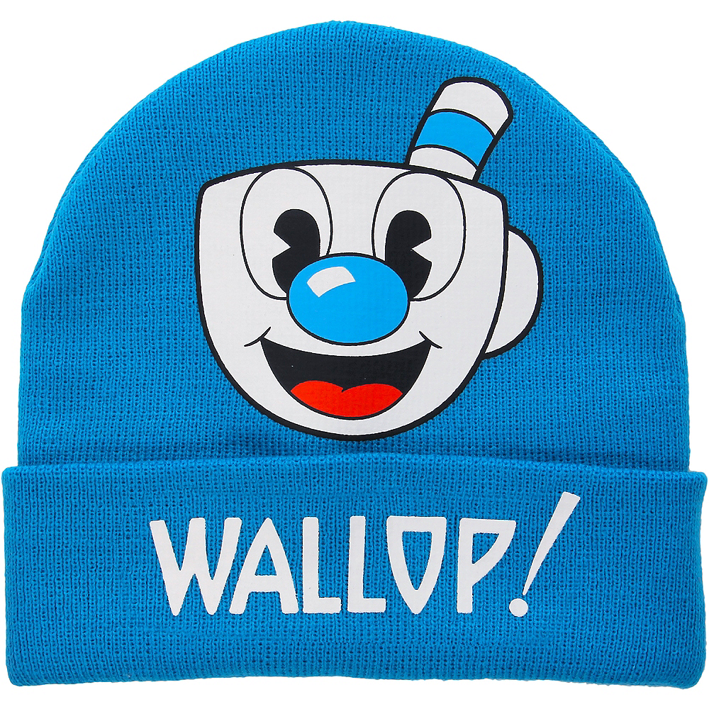 Mugman Wallop Beanie - King Features Cuphead Image #1