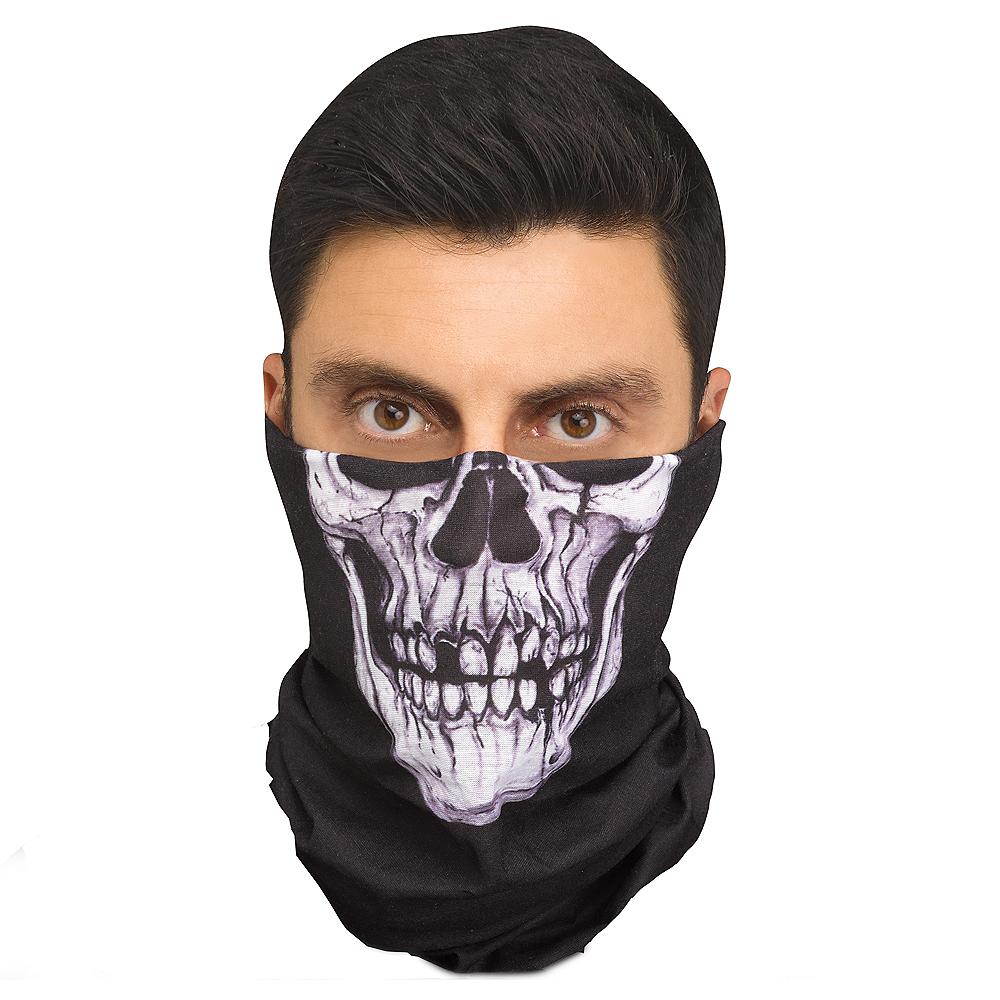 Skeleton Bandana Mask Party City
