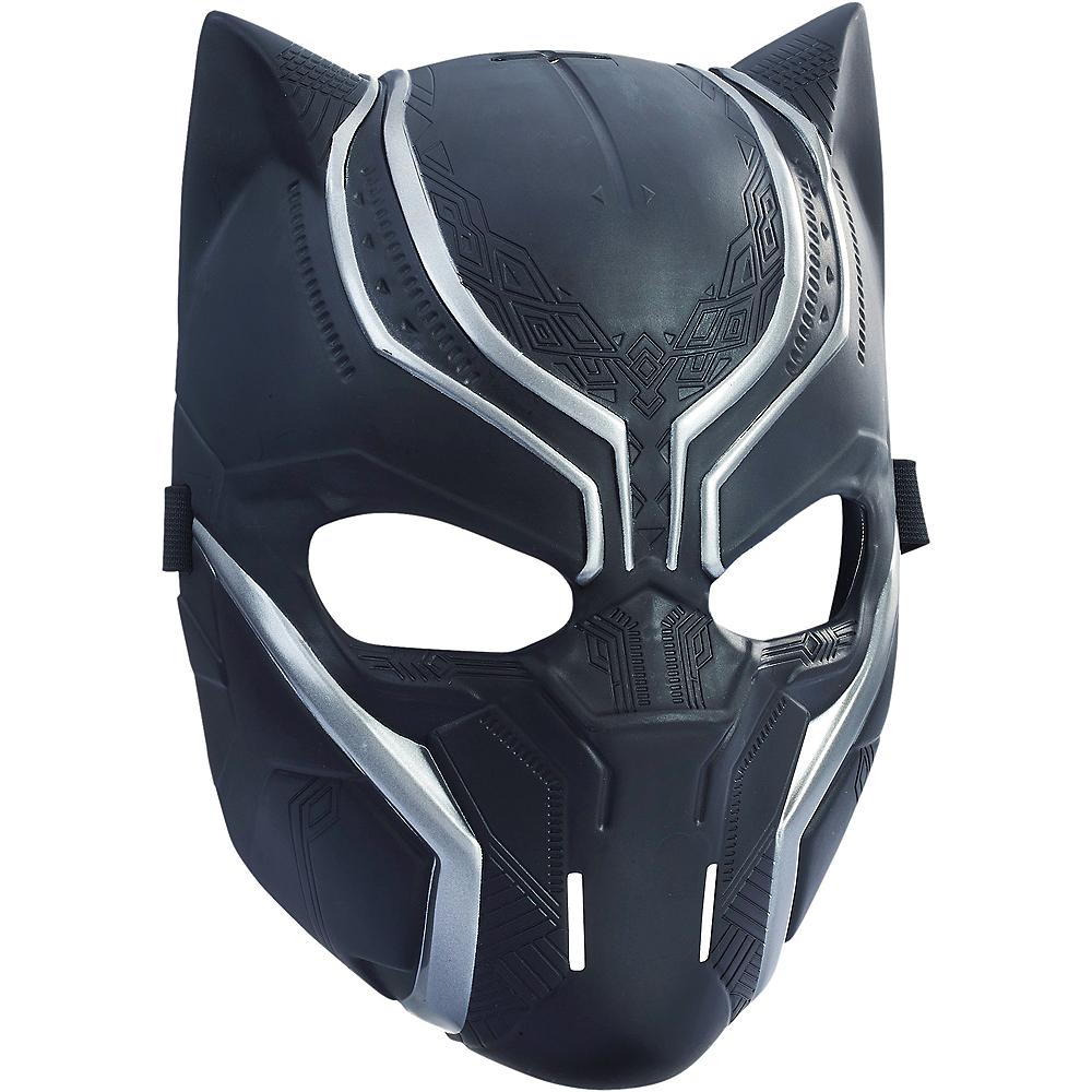 Child Black Panther Mask Image #2