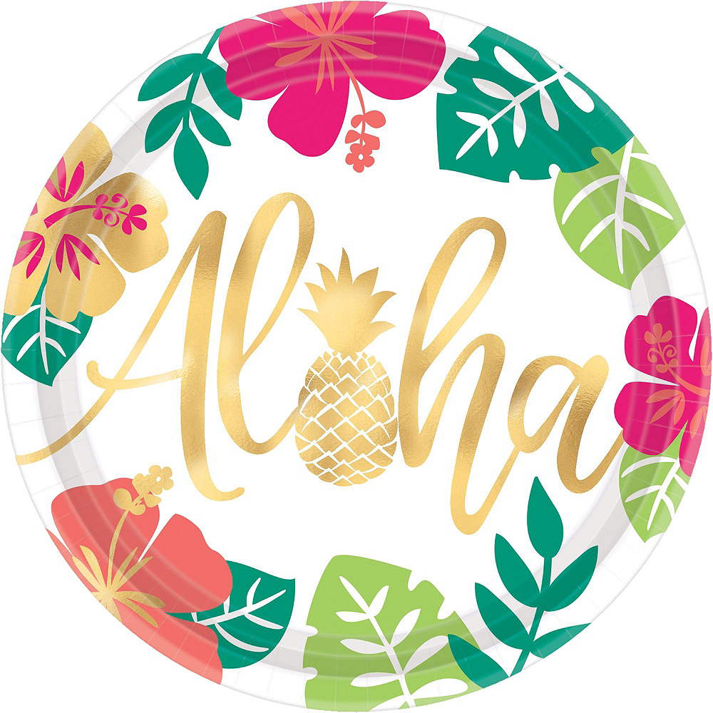 You Had Me At Aloha Party Pack for 16 Guests Image #3