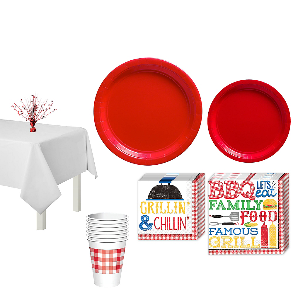 BBQ Picnic Party Pack for 18 Guests Image #1