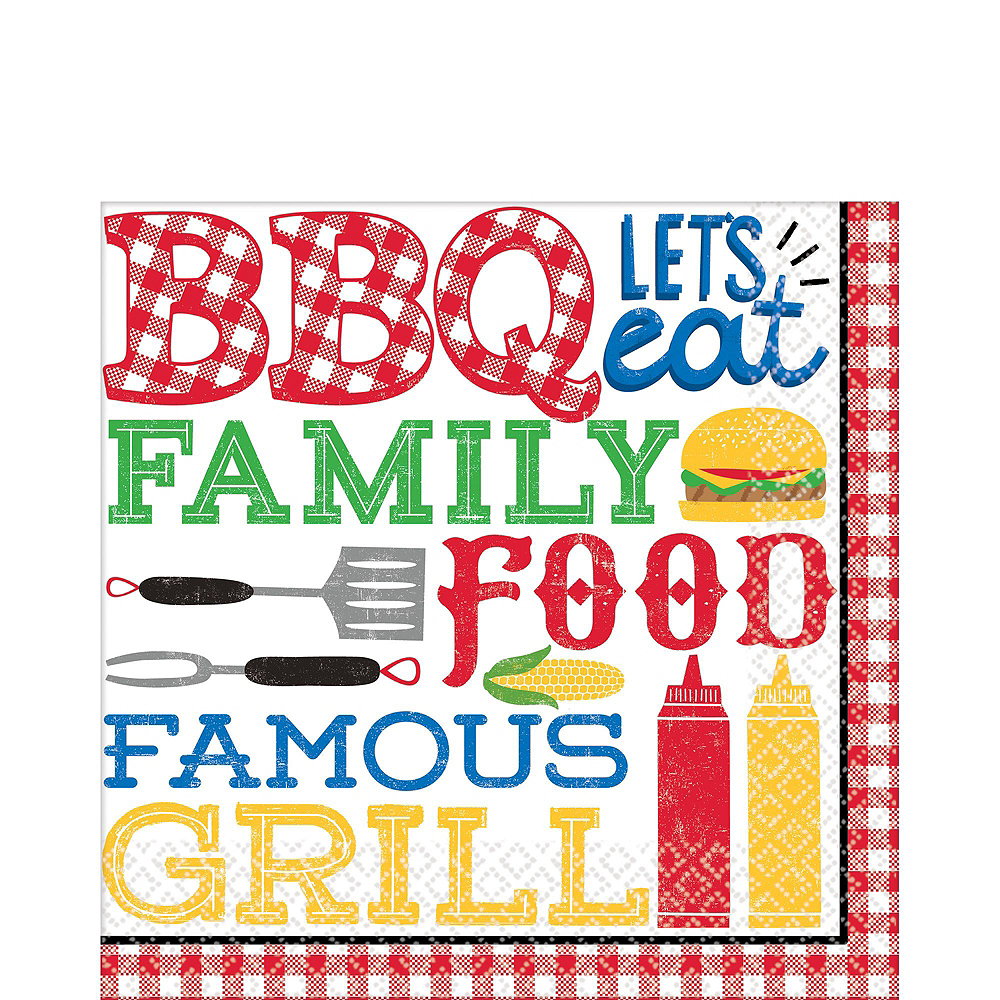 BBQ Picnic Party Pack for 18 Guests Image #5