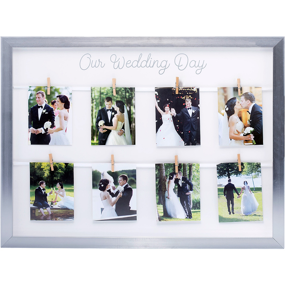 Our Wedding Day Photo Frame Image #1