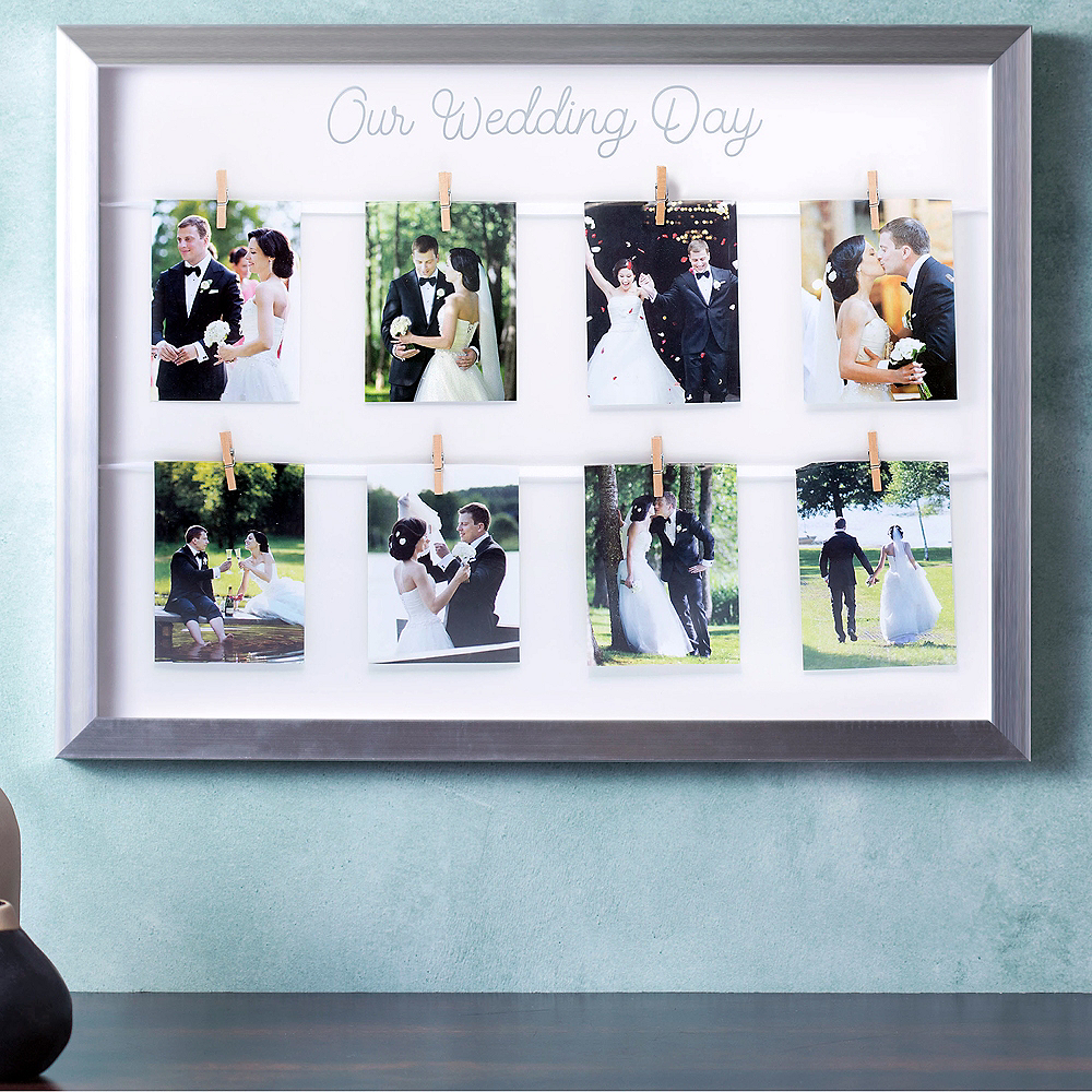 Our Wedding Day Photo Frame Image #2