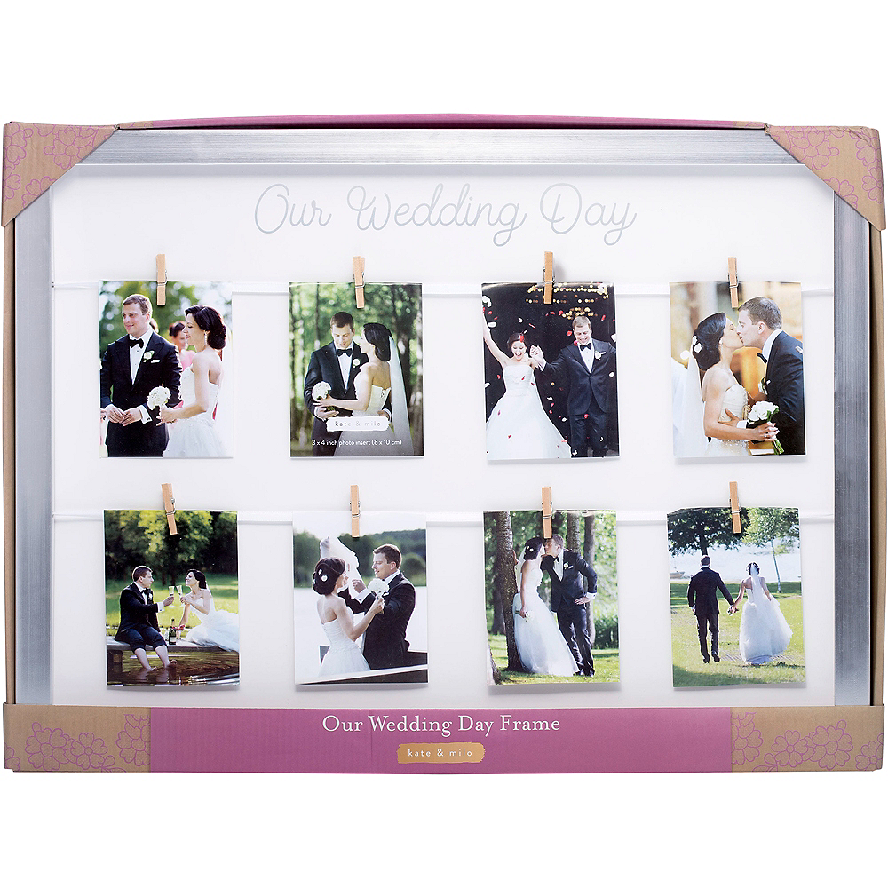 Our Wedding Day Photo Frame Image #3