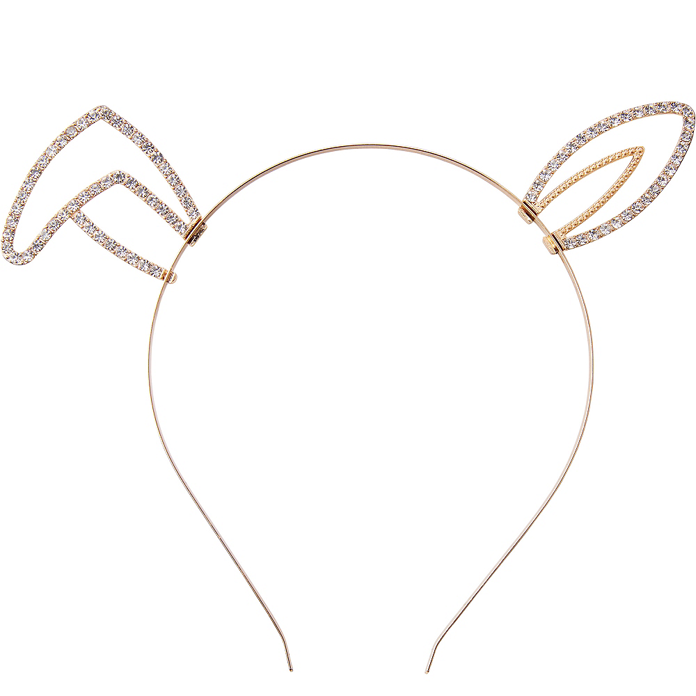 Child Bent Ear Gem Headband Image #1