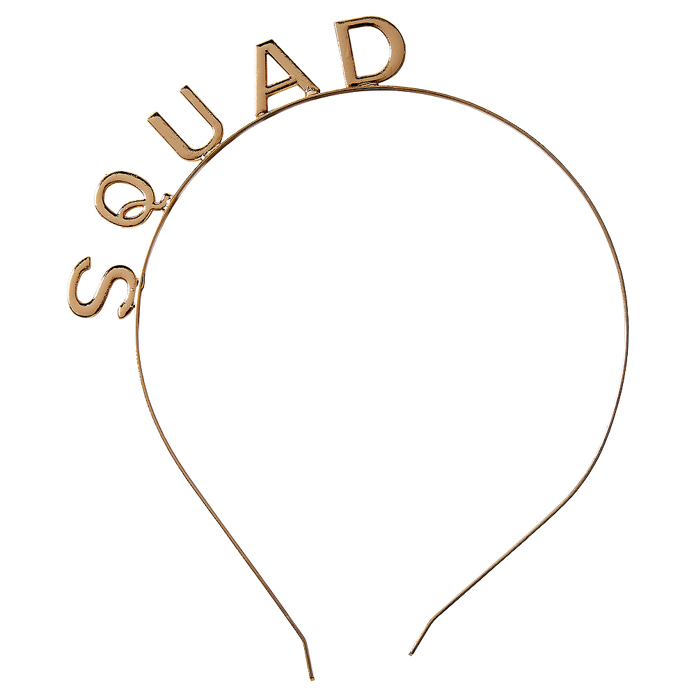 Child Gold Squad Headband Image #1