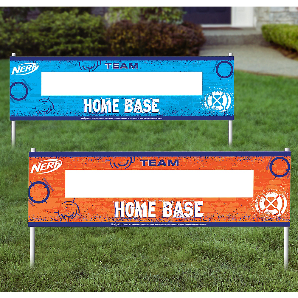 Nerf Home Base Signs 2ct Image #1