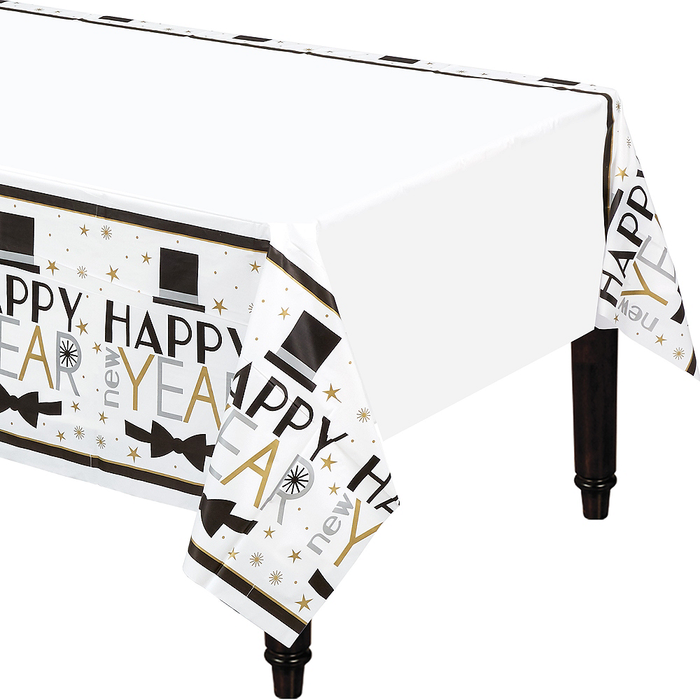 Dapper Night Happy New Year Table Cover Image #1