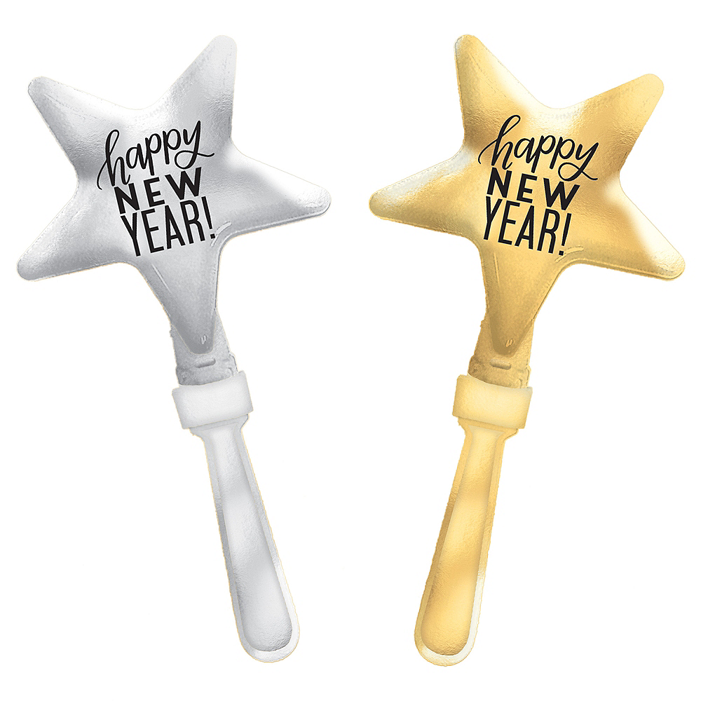 Happy New Year Star Hand Clapper Image #1