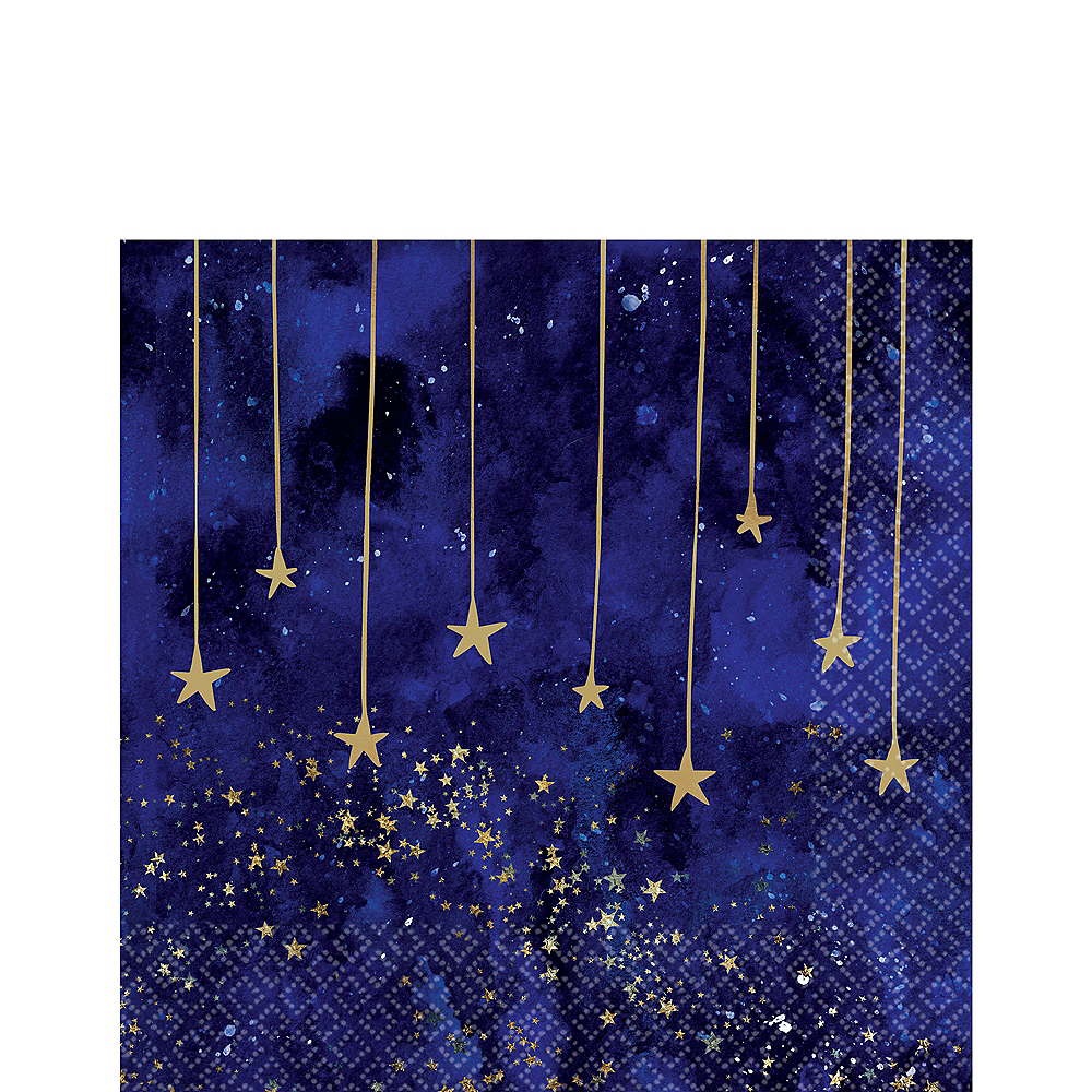 Midnight New Year's Eve Lunch Napkins 16ct Image #1