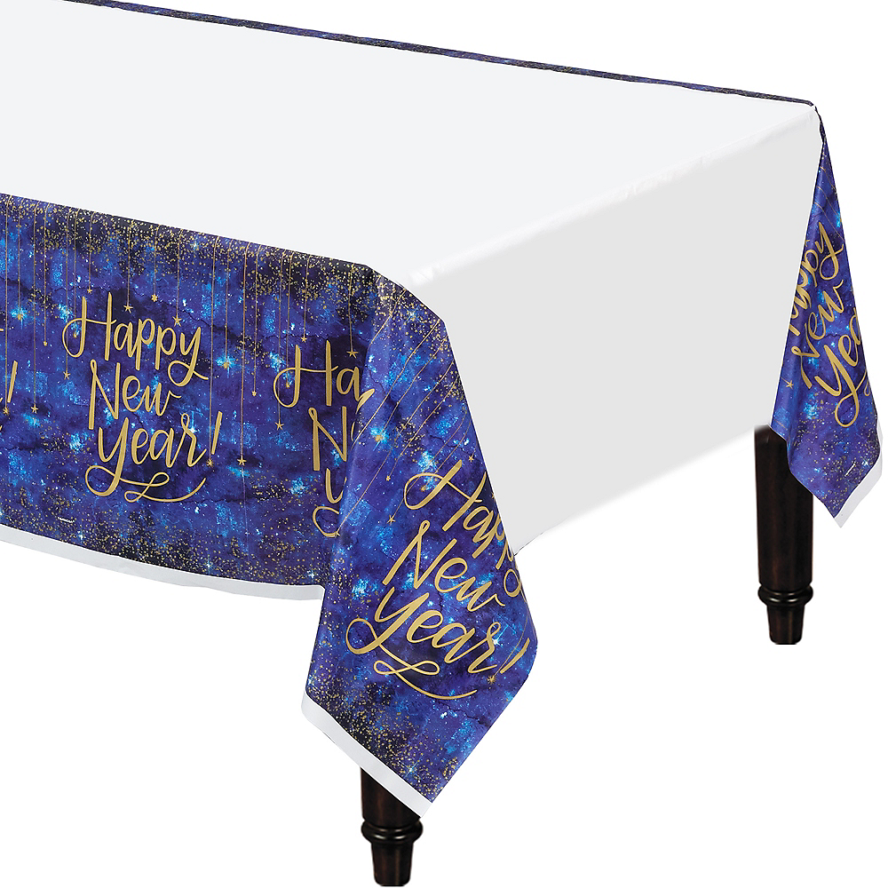 Midnight Happy New Year Table Cover Image #1