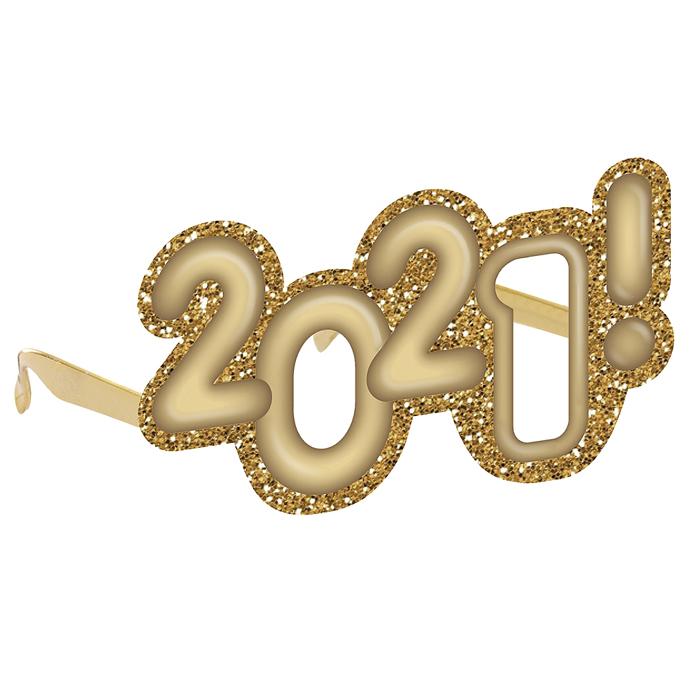 Glitter Gold 2020 Glasses Image #1