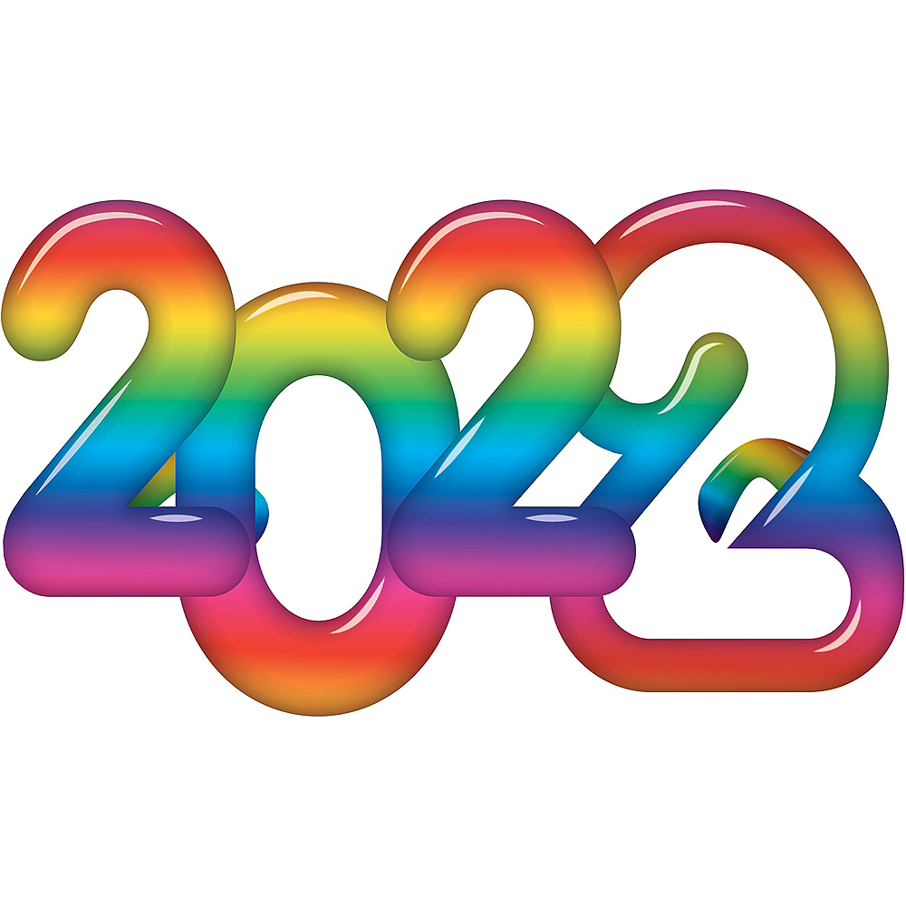 Metallic Rainbow 2021 Glasses Image #1