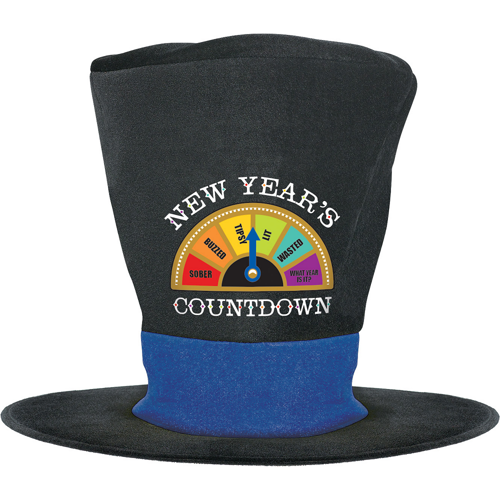 New Year's Countdown Top Hat Image #1