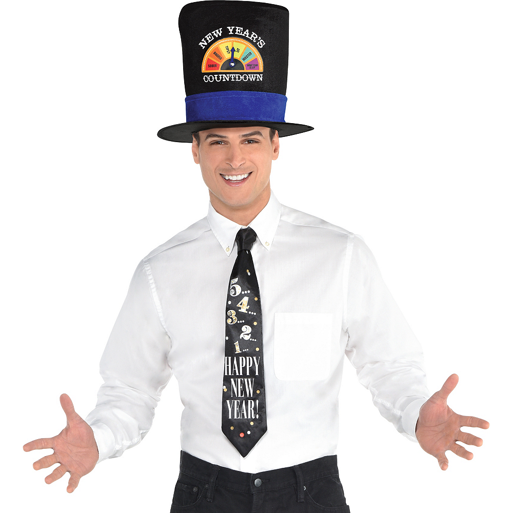 New Year's Countdown Top Hat Image #2