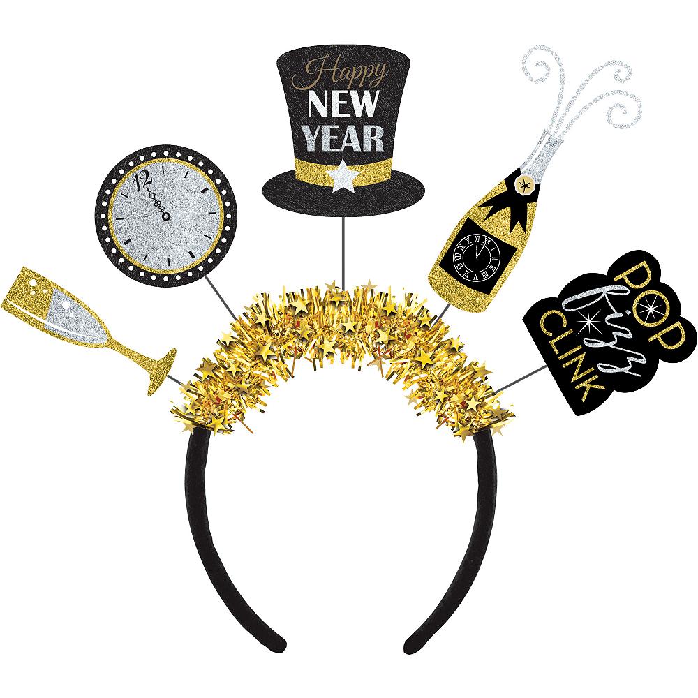 Glitter New Year's Eve Headband Image #1
