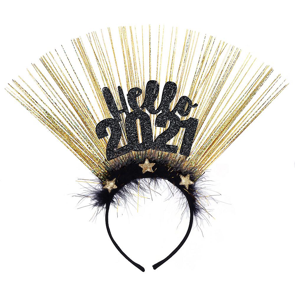 Black & Gold Hello 2020 Head Bopper Image #1