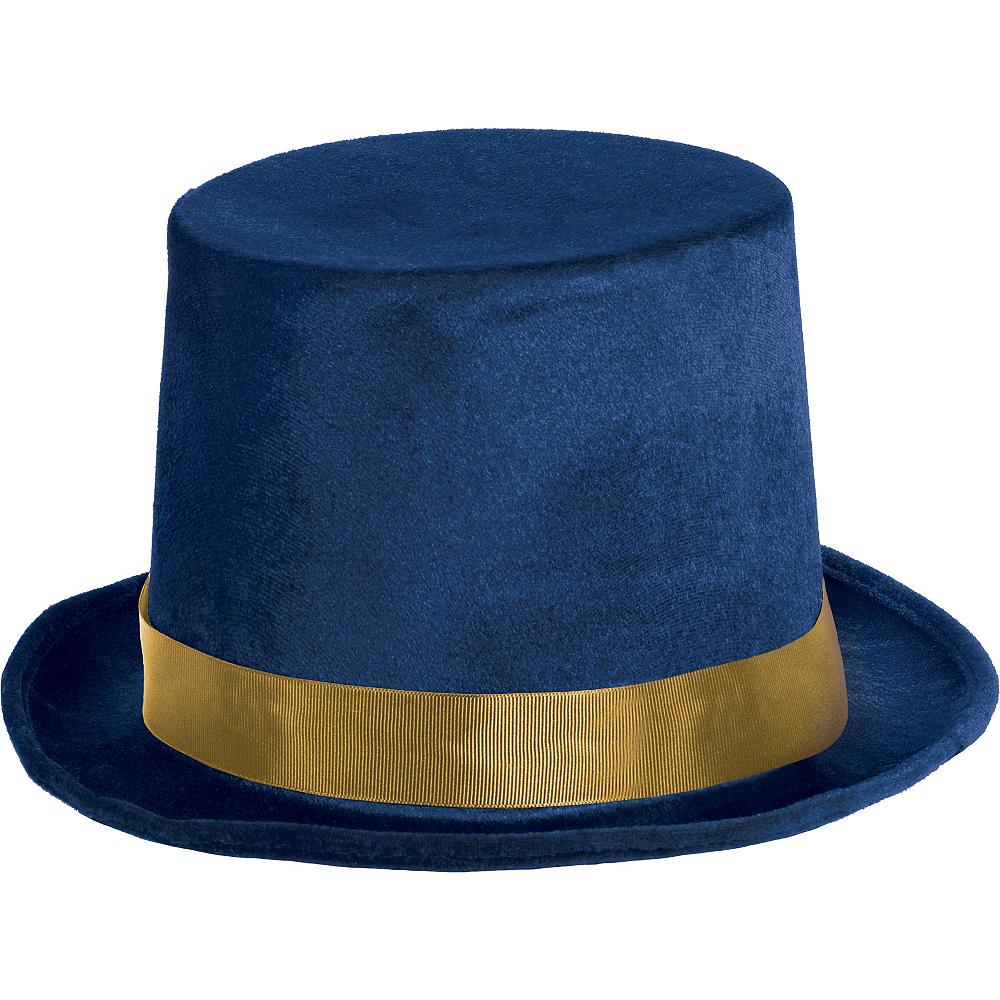 Blue & Gold Top Hat Image #1