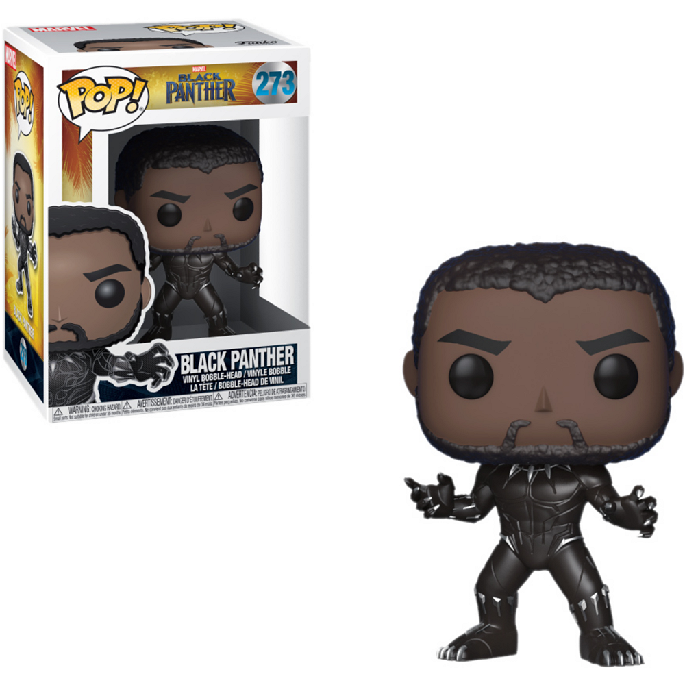 Nav Item for Funko Pop! T'Challa Bobble Head - Black Panther Image #1