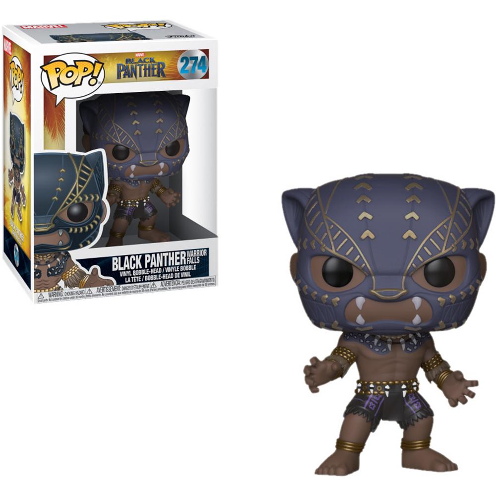 Funko Pop! Warrior Falls Black Panther Bobble Head Image #1