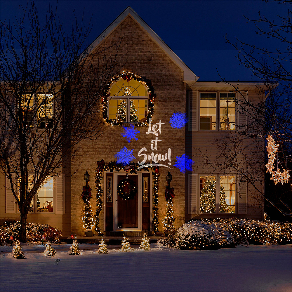 Let It Snow Projector Image #2