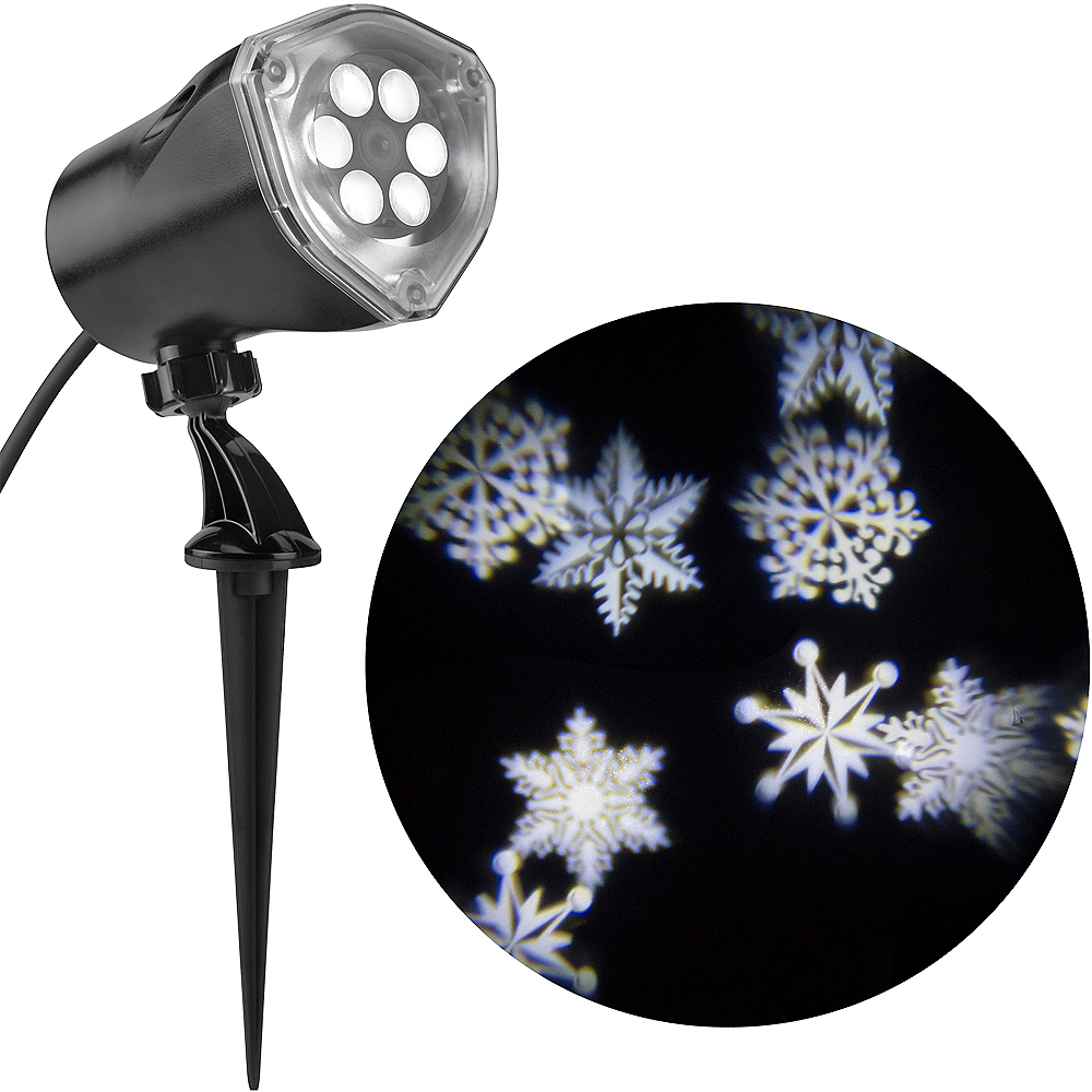Snowflake Projector Image #1
