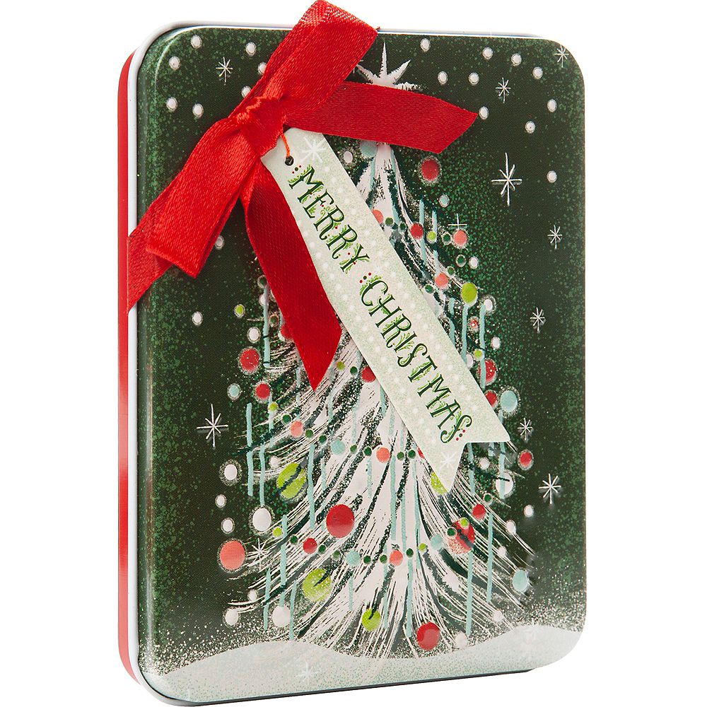 Sparkle Tree Gift Card Holder Tin Image #1